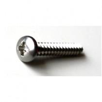 RVS zelftapper cilinderkop kruiskop 2.9x6.5